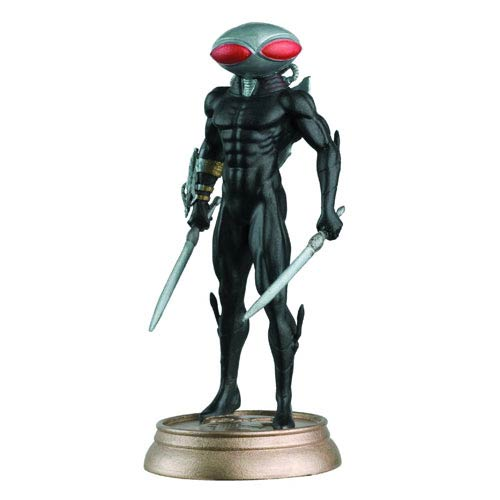 DC Superhero Black Manta Black Pawn Chess Piece and Magazine