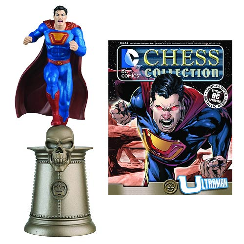 DC Superhero Ultraman Black King Chess Piece with Magazine