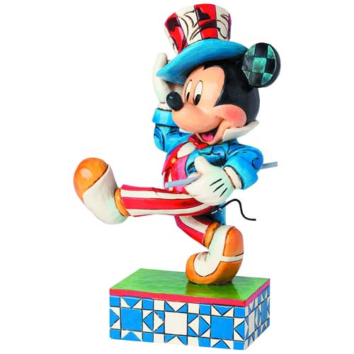 Disney Traditions Mickey Mouse Yankee Doodle Mickey Statue