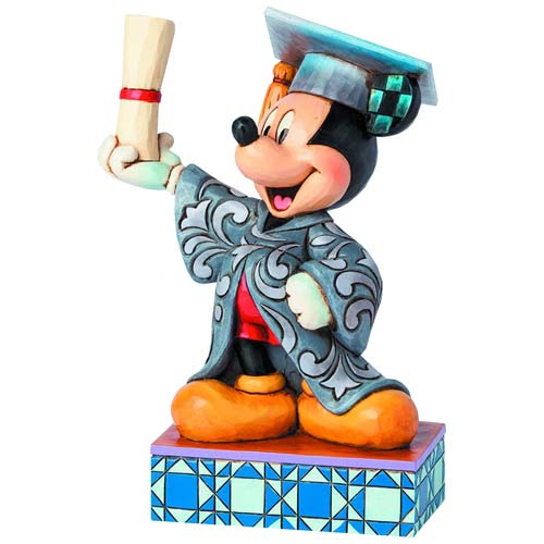 Disney Traditions Graduation Mickey You Did It! Statue