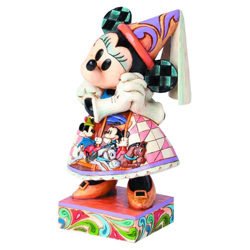 Disney Traditions Princess Minnie Mouse Royal Gown Statue