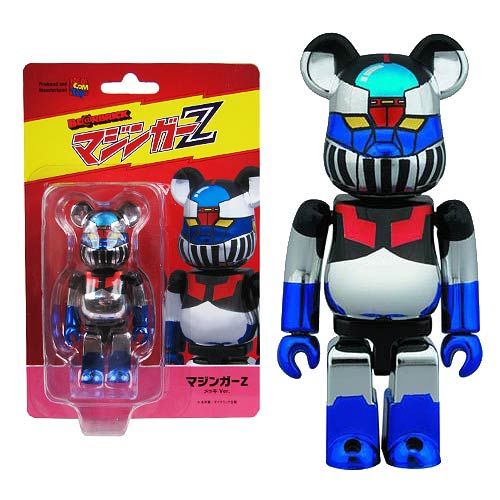 Mazinger Z Bea Plated Version Bearbrick Mini-Figure