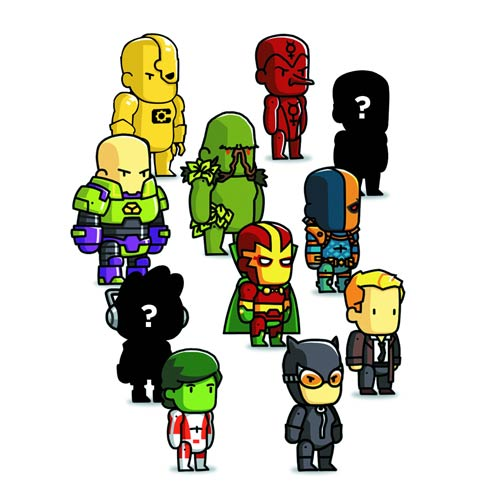 Scribblenauts Unmasked Blind Box Series 4 Mini-Figure Case