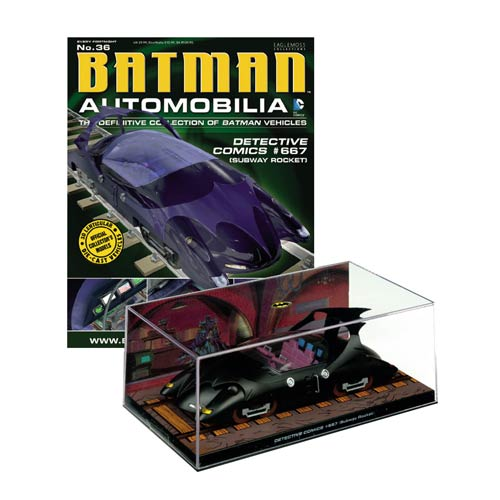 Detective Comics #667 Batmobile Die-Cast Vehicle w/ Magazine