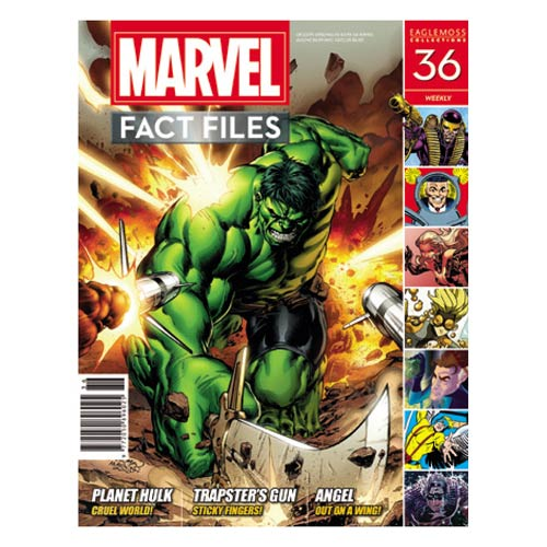 Planet Hulk Marvel Fact Files Magazine