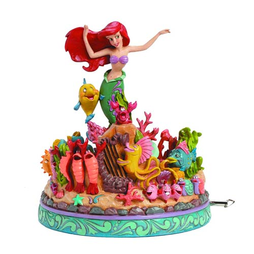 The Little Mermaid Musical Disney Traditions Statue