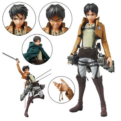 Attack on Titan Eren Yeager Real Action Hero Figure
