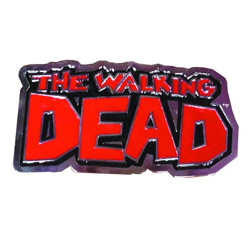 The Walking Dead Comic Logo Belt Buckle