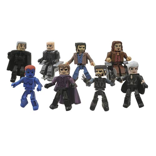 X-Men Days of Future Past Series 58 Minimates 2-Pack Set