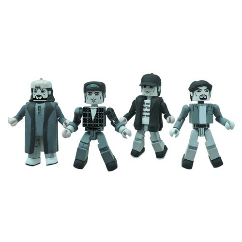 Clerks 20th Ann. Minimates Black-and-White Figure Set