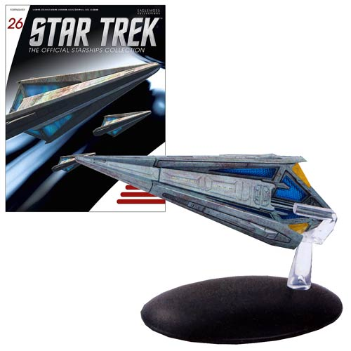 Star Trek Starships Tholian Starship with Collector Magazine