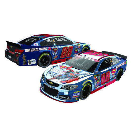 NASCAR Dale Earnhardt Jr.'s Superman 1:24 Vehicle, Not Mint