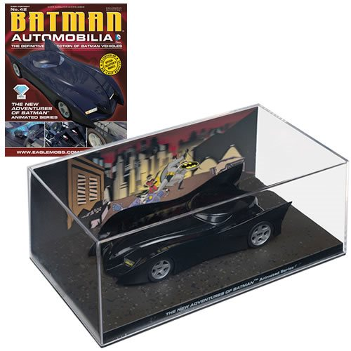 Batman New Adventures of Batman Batmobile with Magazine