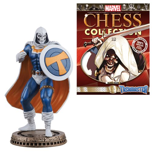 Marvel Taskmaster Black Pawn Chess Piece & Collector Mag.