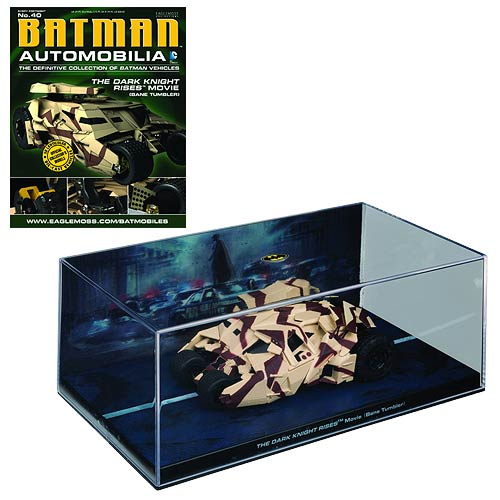 Batman Dark Knight Rises Movie Bane Tumbler Vehicle & Mag.