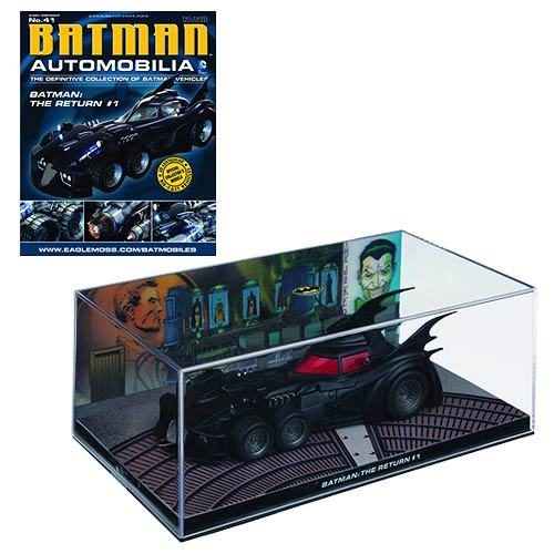 Batman The Return #1 Batmobile with Collector Magazine
