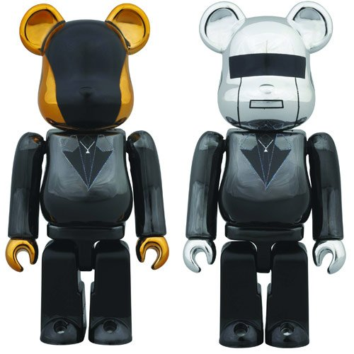 Daft Punk Bearbrick DAction Figuret RAM Mini-Figure 2-Pack