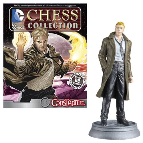 DC Superhero Constantine White Pawn Chess Piece