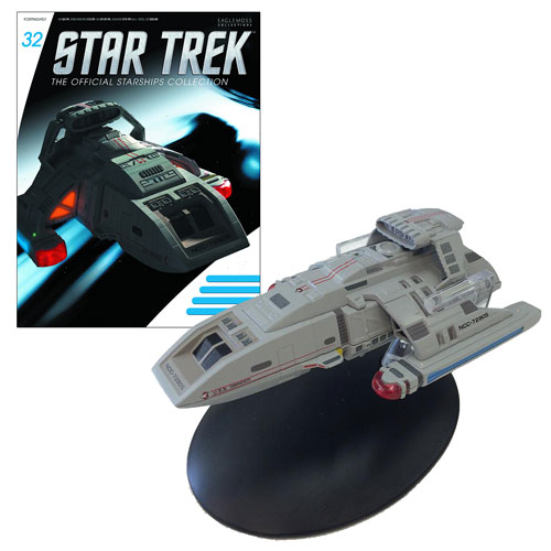 Star Trek Starships Danube Class Runabout Vehicle with Collector Magazine