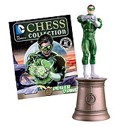 DC Superhero Power Ring Black Bishop Chess Piece & Magazine