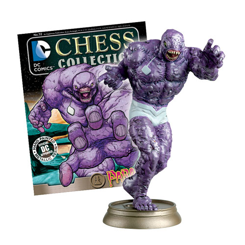 DC Superhero Parasite Black Pawn Chess Piece and Magazine -  Eaglemoss Publications