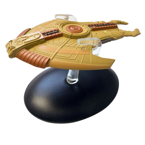 Star Trek Starships Cardassian Hideki Class Vehicle and Mag.