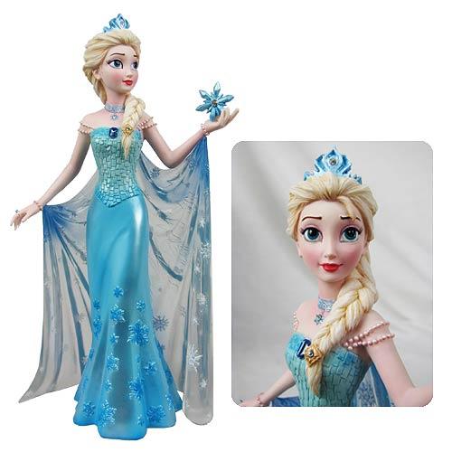 Disney showcase frozen elsa couture de force statue for Couture de force elsa