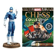 Daredevil Bullseye Black Pawn Chess Piece with Magazine