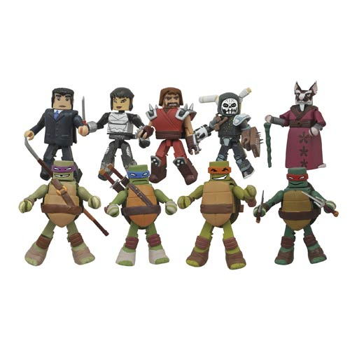 Teenage Mutant Ninja Turtle Minimates Series 2 Display Box