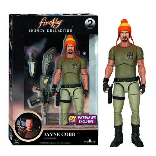 Firefly Jayne Cobb with Hat Legacy Collection Action Figure