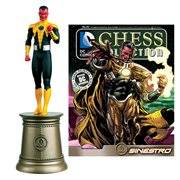 DC Superhero Sinestro Black Bishop Chess Piece and Magazine