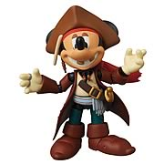 Mickey Mouse Jack Sparrow Miracle Action Figure