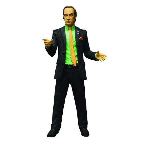 Breaking Bad Saul Goodman Green Shirt Figure - Exclusive