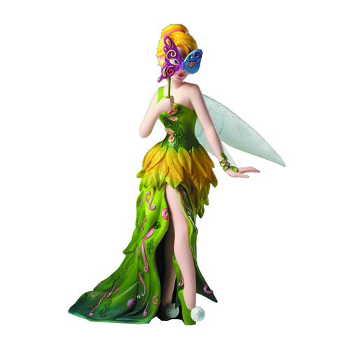 Disney showcase tinker bell masquerade statue enesco peter pan statues at entertainment earth - Tinkerbell statues ...