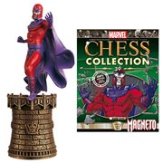 Marvel X-Men Magneto Black King Chess Piece and Magazine