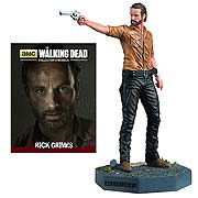 Walking Dead Rick Grimes Figure with Collector Magazine #1