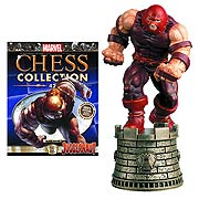Marvel X-Men Juggernaut Black Rook Chess Piece with Magazine