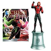 DC Superhero Guy Gardner White Bishop Chess Piece & Magazine