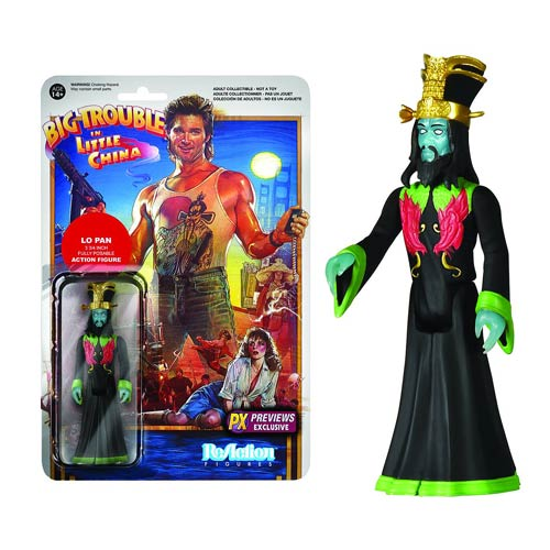 Big Trouble Little China Lo Pan GITD ReAction Figure - PX