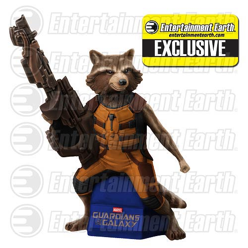 Guardians of Galaxy Rocket Raccoon Figural Bank - Exclusive