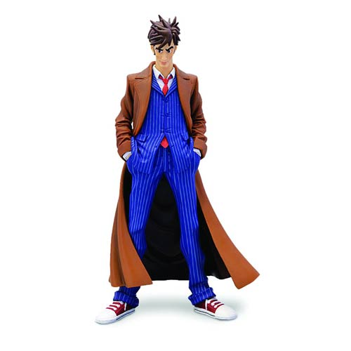 Doctor Who 10th Doctor Blue Suit Dynamix Statue