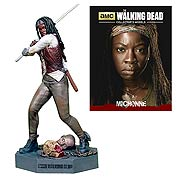Walking Dead Michonne Figure with Collector Magazine #3