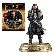 Hobbit Thorin Oakenshield Figure with Collector Magazine #2