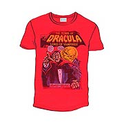 Dracula Marvel Comics The Tomb of Dracula Red T-Shirt