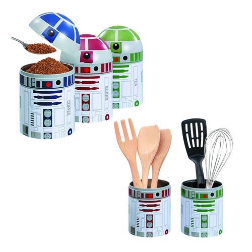 Star Wars Kitchen Storage Jar 3 Pack Set