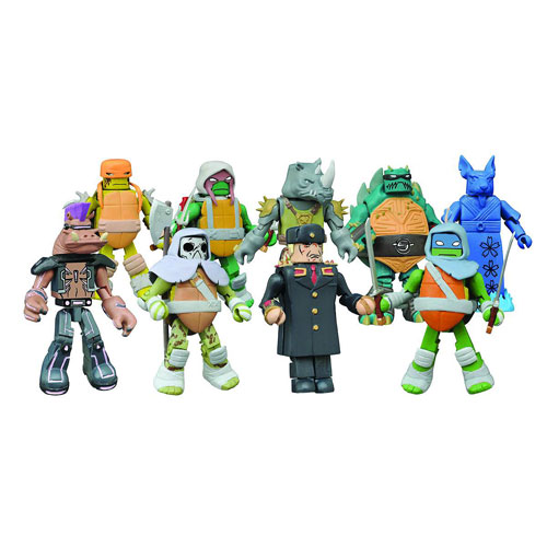 Teenage Mutant Ninja Turtle Minimates Series 3 Random 6-Pack