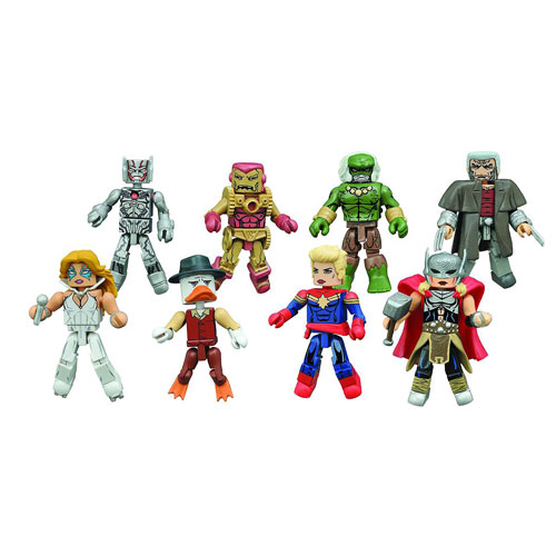 Marvel Minimates Series 64 Secret Wars Set