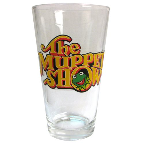 Muppet Show Logo Pint Glass
