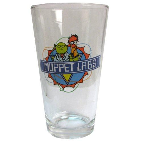 Muppet Show Muppet Labs Pint Glass