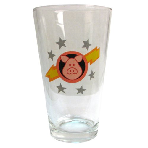 Muppet Show Pigs in Space Pint Glass